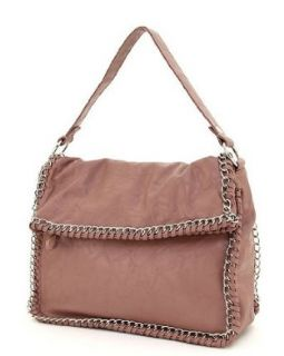 Chain Links Purses Miztigne MMS Design Studio Shoulder Bag Plum (Plum) Clothing