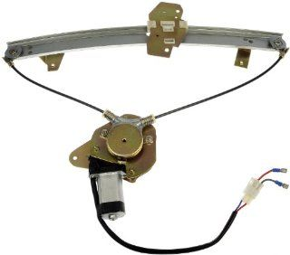 Dorman 741 343 Eagle/Mitsubishi/Plymouth Front Passenger Side Window Regulator with Motor Automotive