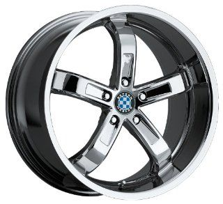 18x9.5 Beyern Five (Chrome) Wheels/Rims 5x120 (1895BYF255120C74) Automotive
