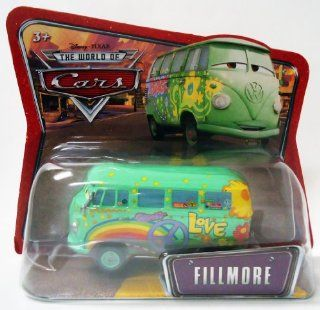 FILLMORE * SHORT CARD * Disney / Pixar CARS 155 Scale THE WORLD OF CARS Die Cast Vehicle Toys & Games