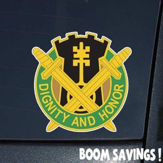 "US Army 391st Military Police Battalion DUI 6"" Decal Sticker Automotive"