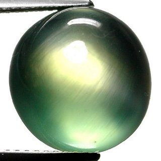 11.11 Ct. TOP Quality Prehnite Oval Cabochon Cut Perfect Gem with Glc Certify Jewelry