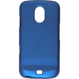 Wireless Solutions Soft Touch Snap On Case for Samsung Galaxy Nexus GT i9250 & i515 (Blue) Cell Phones & Accessories