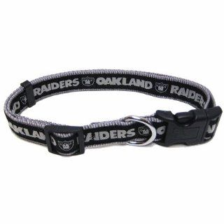 Oakland Raiders NFL Dog Collar   Small   ORC S  Sports Fan Pet Collars