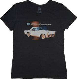 Ford Thunderbird Ladies T shirt Clothing