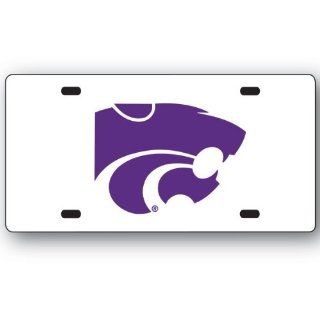 NCAA Kansas State Wildcats License Plate  Sports Fan License Plate Covers  Sports & Outdoors