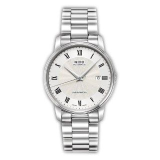 Mido M0104081103300 Watch Baroncelli Iii Mens M010.408.11.033.00 Silver Dial Stainless Steel Case Automatic Movement at  Men's Watch store.