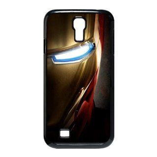 Comic Marvel Superhero Iron Man SamSung Galaxy S4 I9500 Case Iron Man Galaxy S4 Cover Cell Phones & Accessories