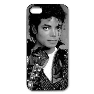 Custom Michael Jackson Cover Case for iPhone 5/5s WIP 3895 Cell Phones & Accessories