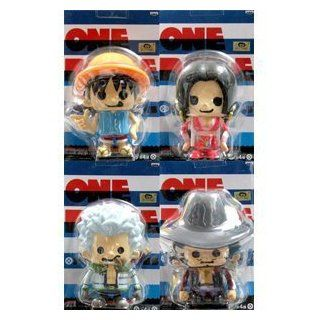 Seven Warlords of the sea appeared hen one Luffy Hancock Smoker, Mihawk all four set ONE PIECE x PansonWorks One Piece Soft Vinyl Figure in Blister King (japan import) Toys & Games
