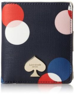 kate spade new york Cobblestone Park Small Stacy Wallet,Sonia Purple,One Size Shoes