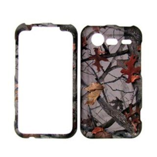 Premium   VERIZON HTC DROID INCREDIBLE 2 Camo Camouflage AUTUMN FOREST COVER CASE   Faceplate   Case   Snap On   Perfect Fit Guaranteed Cell Phones & Accessories