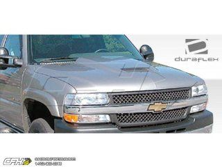 1999 2002 Chevrolet Silverado 2000 2006 Tahoe Suburban Duraflex Ram Air Hood   1 Piece Automotive