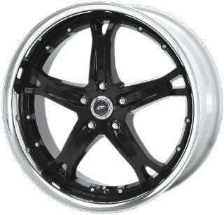 "Dale Earnhardt JR Killer DJ3743 Gloss Black Wheel with Machined Lip (17x9""/5x4.5"") Automotive"