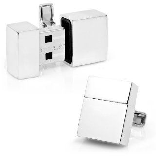 2GB USB Flash Drive Cufflinks Electronics