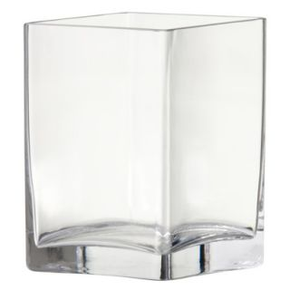 Threshold™ Square Glass Vase   4.75x6.75