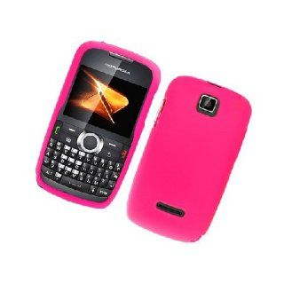 Motorola Theory WX430 Hot Pink Hard Cover Case Cell Phones & Accessories