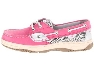 Sperry Kids Bluefish Little Kid Big Kid Hot Pink Black White Zebra