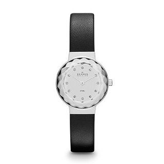 Skagen Classic Black Leather Women's Watch Skw2005 Skagen Watches