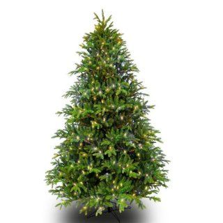 9 ft. x 54 in.   Slim Alaskan Deluxe Fir   4047 Realistic Molded Tips   750 Clear Mini Lights   Barcana Artificial Christmas Tree   Palm Plant Potted Storage