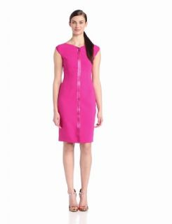 ELIE TAHARI Women's Ruth Cap Sleeve Dress