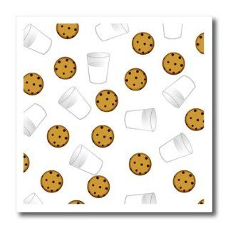 ht_43206_3 Janna Salak Designs Sweet Treats   Cute Cartoon Milk and Chocolate Chip Cookies on White   Iron on Heat Transfers   10x10 Iron on Heat Transfer for White Material Patio, Lawn & Garden
