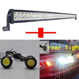 can combine spot and flood beam put into water new put into water new item10/30/60 degree 42 inch 240w led light bar offroad driving ATVs jeep truck carSUV roof rack bar bumper 12v   24v Great for Jeep light Automotive