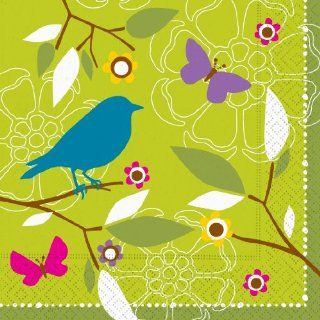 Design Early Bird Luncheon Napkin, 20 Napkins per Pack,  (Pack of 2) Health & Personal Care