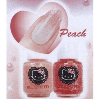Lucky Trendy Hello Kitty Nail Cocktail Peach HKNC485 Health & Personal Care