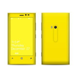 Solid State Yellow Design Protective Decal Skin Sticker (High Gloss Coating) for Nokia Lumia 920 Cell Phone Cell Phones & Accessories