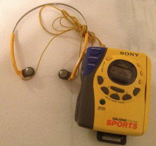 Sony Sports Auto Reverse Radio Cassette Player Am/fm Walkman Wm fs493, Mega Bass