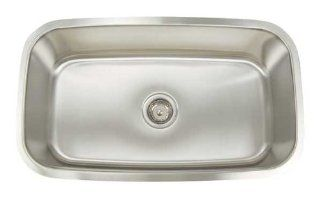 Artisan AR3118 D9 Premium Series Stainless Steel Undermount Single Bowl Sink   Double Bowl Sinks
