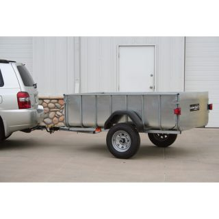 Little Giant Trailer 3/4-Ton Pickup Bed Trailer, 4 1/2 Ft. x 7 Ft., Model# LGT 1107-T  Trailers