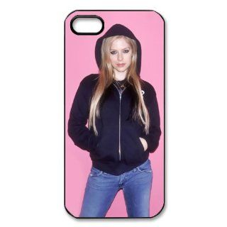 Custom Avril Lavigne Cover Case for IPhone 5/5s WIP 499 Cell Phones & Accessories
