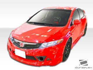 2006 2011 Honda Civic 4DR Duraflex Renzo Body Kit   4 Piece   Includes Renzo Front Bumper Cover (107434) B 2 Side Skirts Rocker Panels (103519) B 2 Rear Bumper Cover (103520) Automotive