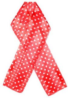 Dotty Scarf with Small Polka Dots Scarf Colors Red Clothing