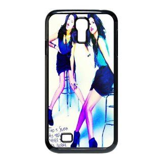 Custom Selena Gomez Cover Case for Samsung Galaxy S4 I9500 S4 3107 Cell Phones & Accessories