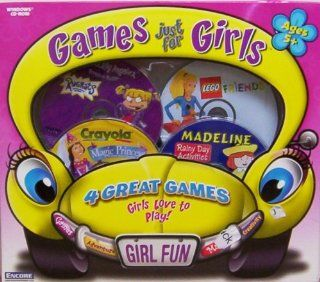 ENCORE Games Just For Girls   Lego Friends, Madeline Rainy Day, Rugrats Boredom Buster, Crayola Magic Princess Video Games