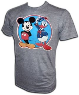 Vintage 70's Walt Disney Mickey Mouse Donald Duck iron on t shirt, small Fashion T Shirts Clothing
