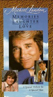 Michael Landon Memories With Laughter & Love [VHS] Melissa Sue Anderson, David Canary, Ossie Davis, David Dortort, Melissa Gilbert, Lindsay Greenbush, Sidney Greenbush, Moses Gunn, Matthew Laborteaux, Cindy Landon, Jennifer Landon, Leslie Landon, Sha