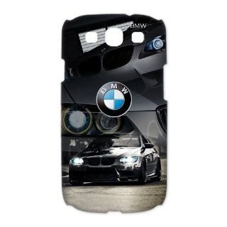 Custom BMW 3D Cover Case for Samsung Galaxy S3 III i9300 LSM 537 Cell Phones & Accessories