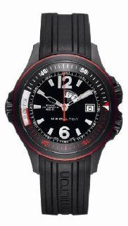Hamilton Men's Khaki Navy GMT watch #H77585335 at  Men's Watch store.