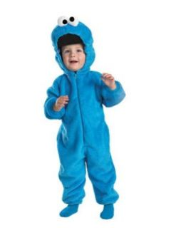 Cookie Monster Deluxe Toddler Costume 2T   Toddler Halloween Costume Clothing