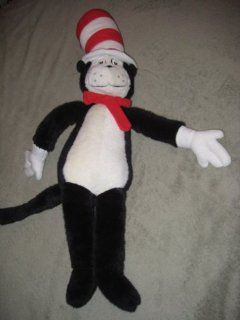 "Vintage 1995 Macy's "" Dr. Seuss Cat In The Hat "" 30 Inch Plush Stuffed Toy Toys & Games"