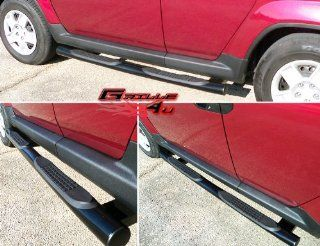 03 10 Honda Element (Excl Sc Model) Black Side Step Nerf Bars Running Boards Automotive