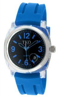 TKO ORLOGI Unisex TK548 BBL Milano Remixed Plastic Case and Blue Rubber Strap Watch at  Men's Watch store.