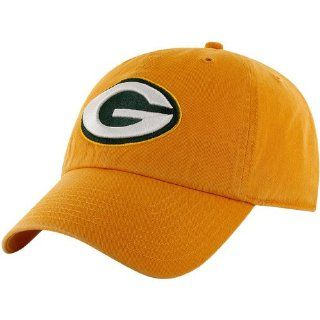 NFL Green Bay Packers Men's Clean Up Cap, Cheddar, One Size  Sports Fan Baseball Caps  Sports & Outdoors