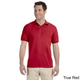 Jerzees Mens Heavyweight Blend Jersey Polo Shirt Red Size XXL