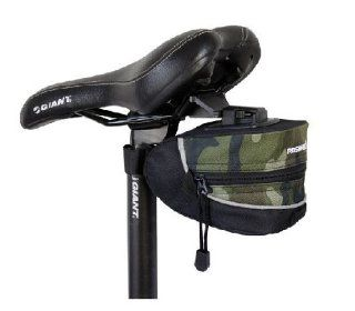 Outdoor Cycling Mini Camouflage Saddle Bag Waterproof Outdoor Pouch K0612  Bike Wedges  Sports & Outdoors