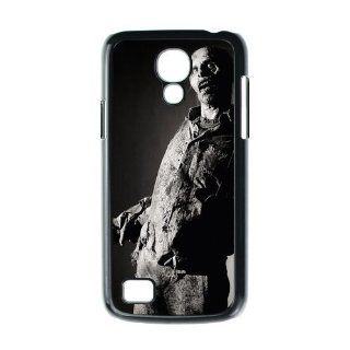 Horror Black White the Walking Dead Zombie Figure Slim Hard One Piece Durable SamSung Galaxy S4 mini i9192/i9198 Case Cover Cell Phones & Accessories